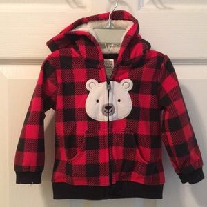 Carters fleece jacket 9 months